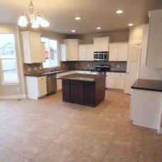 Craftsman Kitchen by Home Center Construction