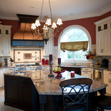 Transitional Kitchen by Cerra Homes LLC