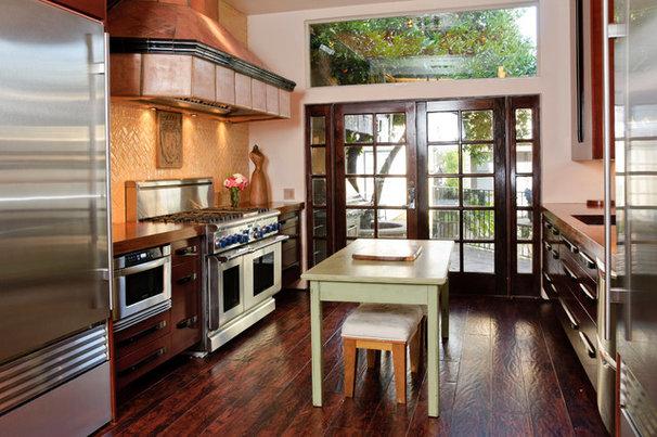 Mediterranean Kitchen by Van-Martin Rowe