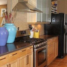 Contemporary Kitchen by The Cavender Diary