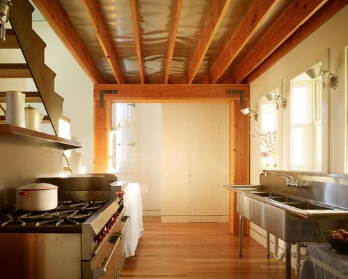 Industrial sink houzz - Commercial kitchen plumbing design ...