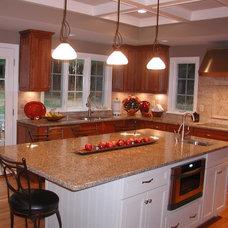 Contemporary Kitchen by The Churchill Company  MA