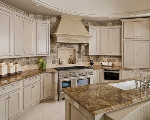 Houston kitchen design ideas renovations photos with porcelain flooring - Kitchen design houston ...
