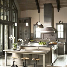 Refined Rustic Kitchens