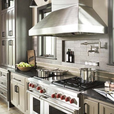 Rustic Kitchen by Linda McDougald Design | Postcard from Paris Home