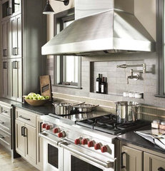eclectic kitchen by Linda McDougald Design | Postcard from Paris Home
