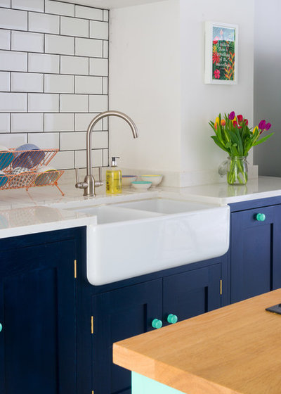 Eclectic Kitchen by Sustainable Kitchens