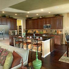 Traditional Kitchen by Meritage Homes