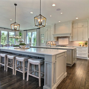 The Corner Kitchen : The Cadence : 2018 Parade of Homes