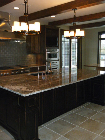 Traditional Kitchen by Advanced House Plans
