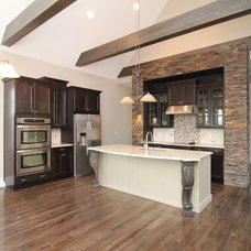 Rustic Kitchen by Stanton Homes