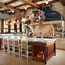 Traditional Kitchen by Alvarez Homes