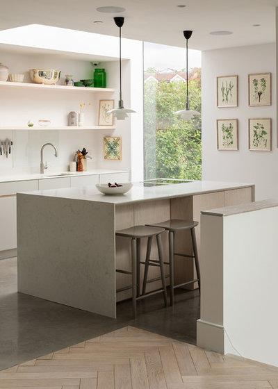 コンテンポラリー キッチン by Fraher and Findlay