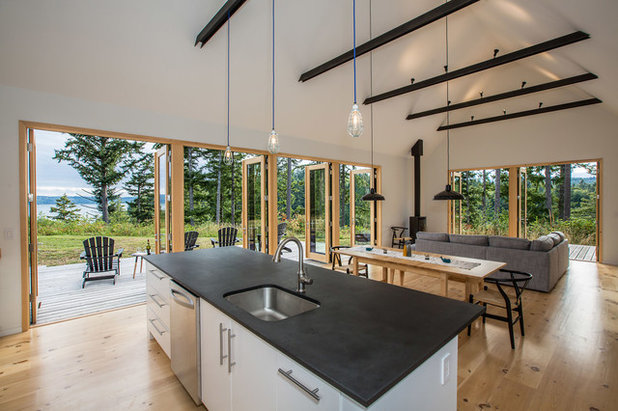 Rustikal Küche by Prentiss Balance Wickline Architects