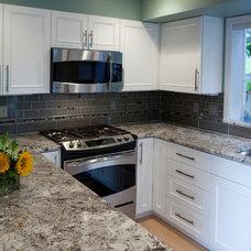 Traditional Kitchen by Delaney Kitchen and Design, LLC