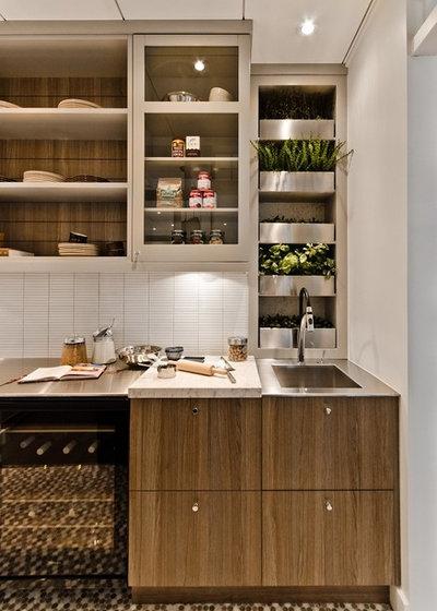 indoor-kräutergarten für die küche - ideen - Kräuterbeet Küche