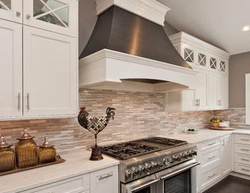 THE DREAM White Kitchen - Potomac MD