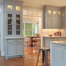 Farmhouse Kitchen by Meridian Design/Build