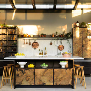 "The ""elemental"" Kitchen by Charlie Smallbone and deVOL"