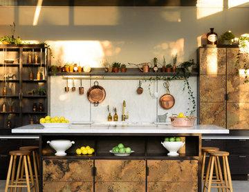 "The ""elemental"" Kitchen by Charlie Smallbone and deVOL"