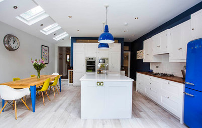 Kitchen Tour: A Classic White Kitchen With a Hidden Utility Room