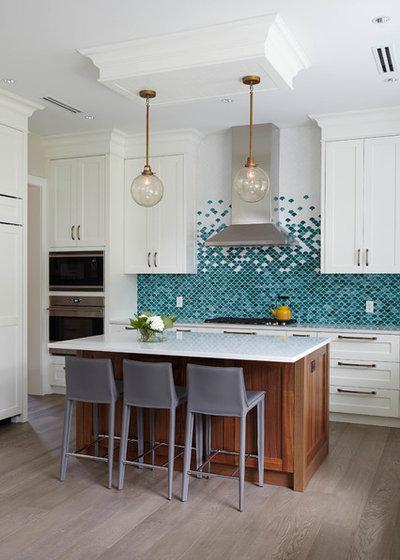 Transitional Kitchen by MaK Interiors