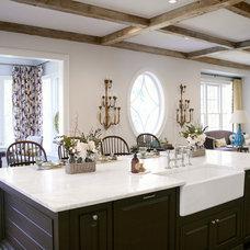 Farmhouse Kitchen by Dovetail Homes