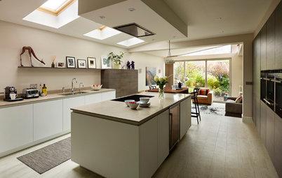 A Kitchen That Looks Less Kitchen-y