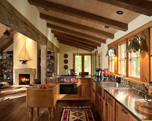 25 AllTime Favorite Rustic Kitchen with Stainless Steel