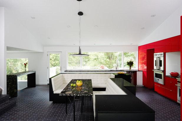 Contemporary Kitchen by CITYDESKSTUDIO, Inc.