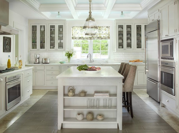 Traditional Kitchen by Mitchell Wall Architecture & Design