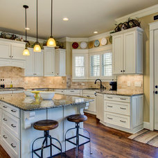 Traditional Kitchen by Collins Design-Build, Inc.