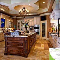 mediterranean kitchen by Dynamic Kitchen and Interiors