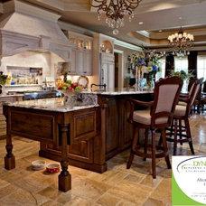 Mediterranean Kitchen by Dynamic Kitchen and Interiors