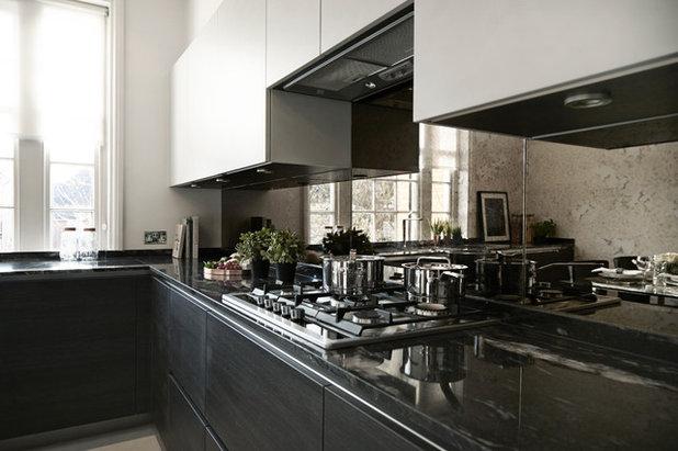 Trendy Køkken by Bailey London Interior Design & Build
