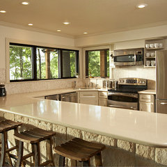 traditional kitchen by Vacation Home Builders