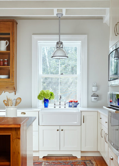 Kitchen of the Week Hearth and History in an Ontario Home – Kitchen Square Footage