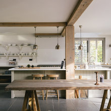 Kitchen Tour: A Simple Shaker Kitchen In a New-Build Barn
