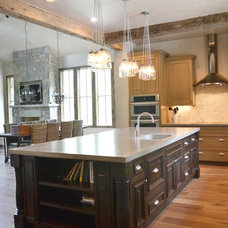 Eclectic Kitchen by Resort Custom Homes