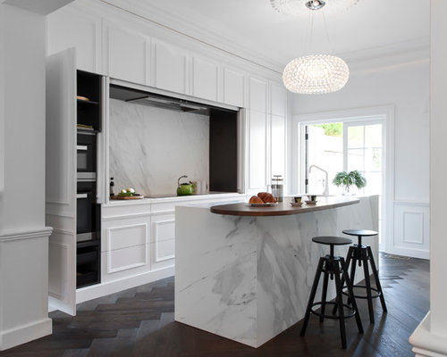 Victorian Galley Kitchen Design Ideas Remodel Pictures Houzz