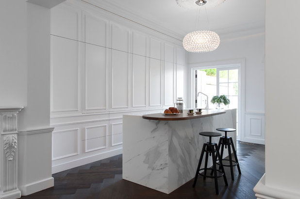 Victorian Kitchen by Liebke Projects