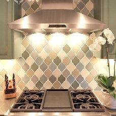 Transitional Kitchen by Bria Hammel Interiors