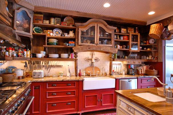 Farmhouse Kitchen by McKeithan Design Studio, LLC