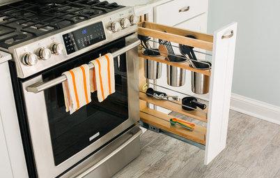 Optimér opbevaringen med fikse køkkenskabe – her er 16 varianter