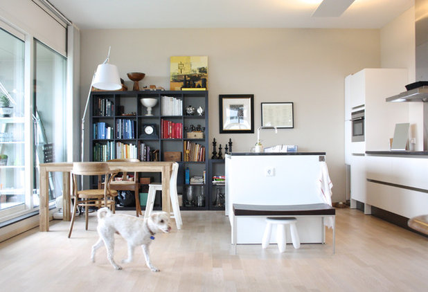 Transitional Kitchen by Holly Marder