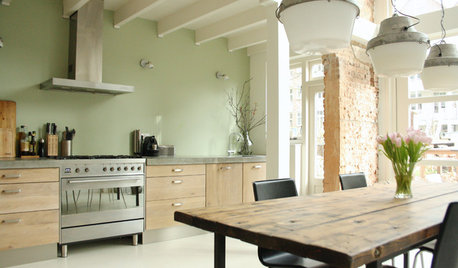My Houzz: A Chic Rotterdam Dream Home with an Industrial Edge