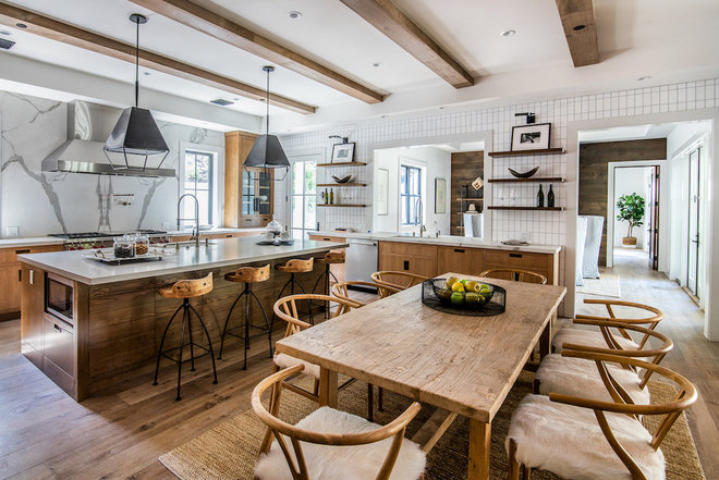 Farmhouse Kitchen by Meridith Baer Home