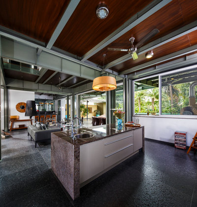 Contemporary Kitchen by Mathew & Ghosh Architects
