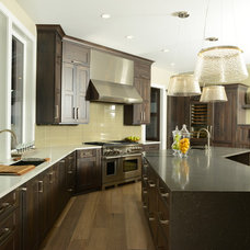 Transitional Kitchen by Signature Design & Cabinetry LLC