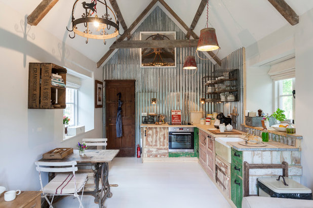 Shabby-Chic Style Cucina by Chris Snook